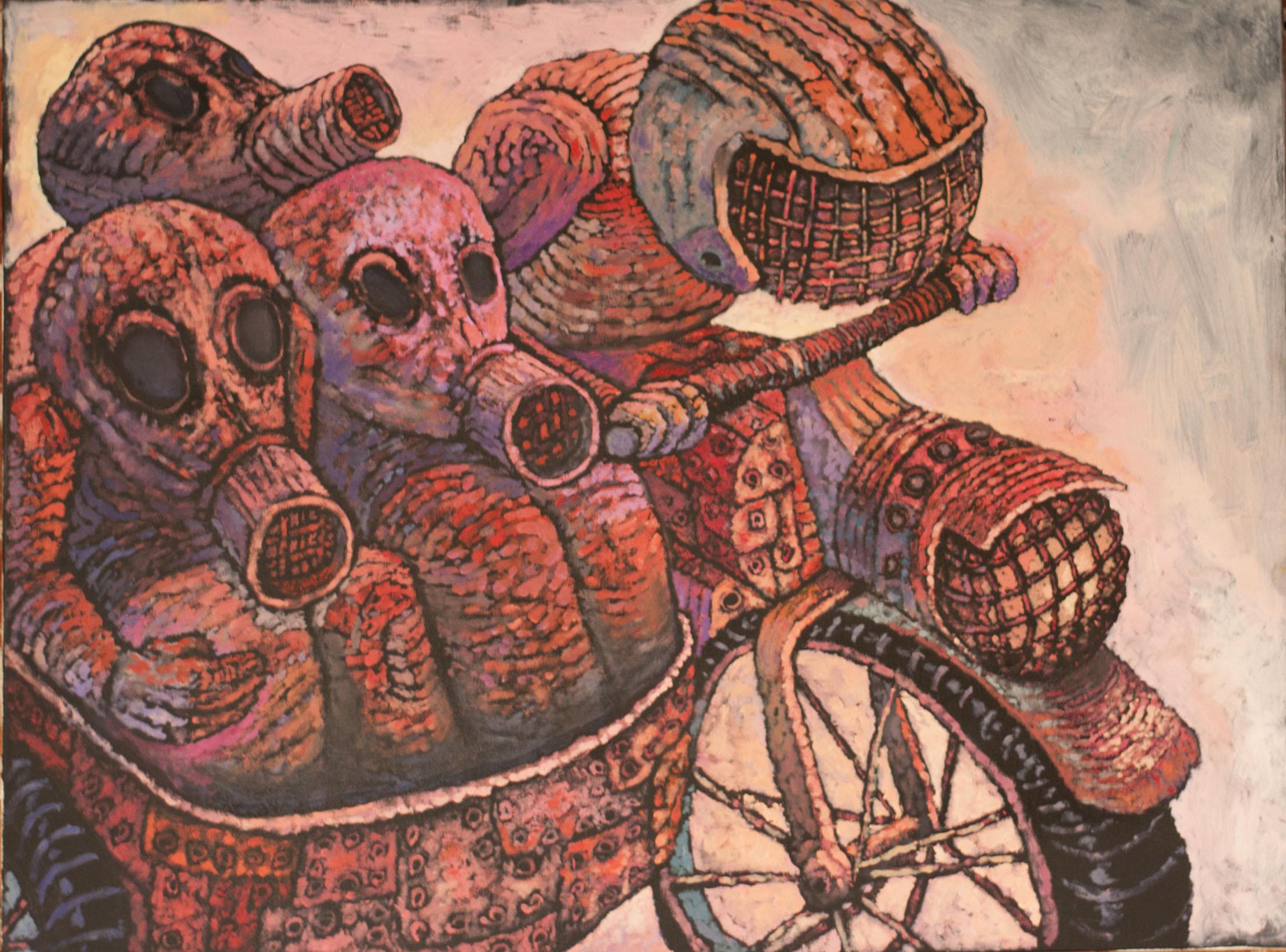 """XIX, z cyklu: """"Pandemonium"""", 2020"""