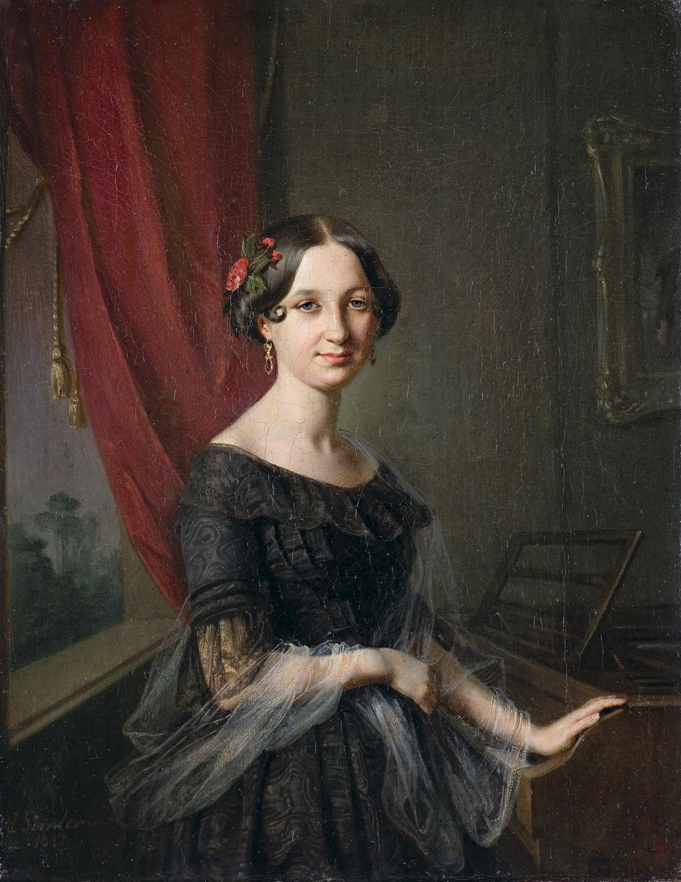 PORTRET JÓZEFY SŁUGOCKIEJ, 1847