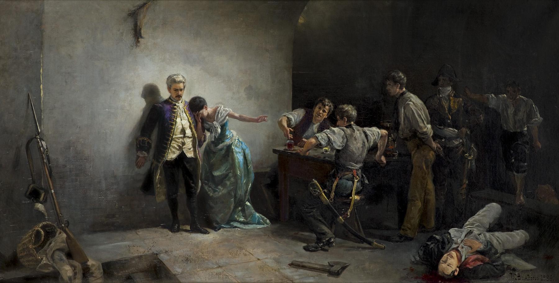 PANNA DE CAZOTTE – EPIZOD Z REWOLUCJI FRANCUSKIEJ, 1886