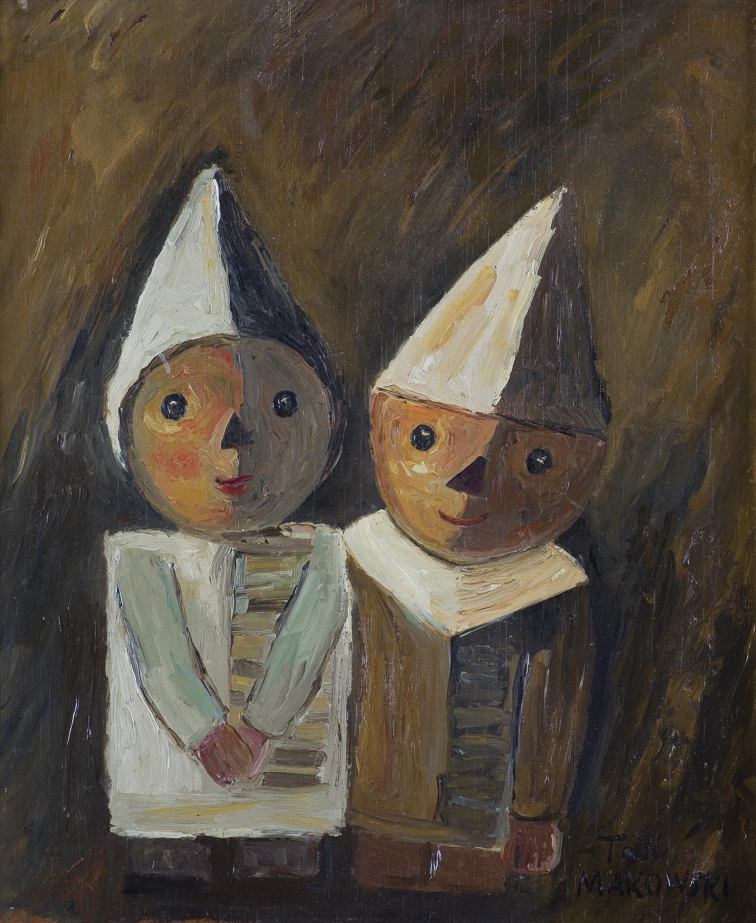 DWOJE DZIECI, ok. 1930