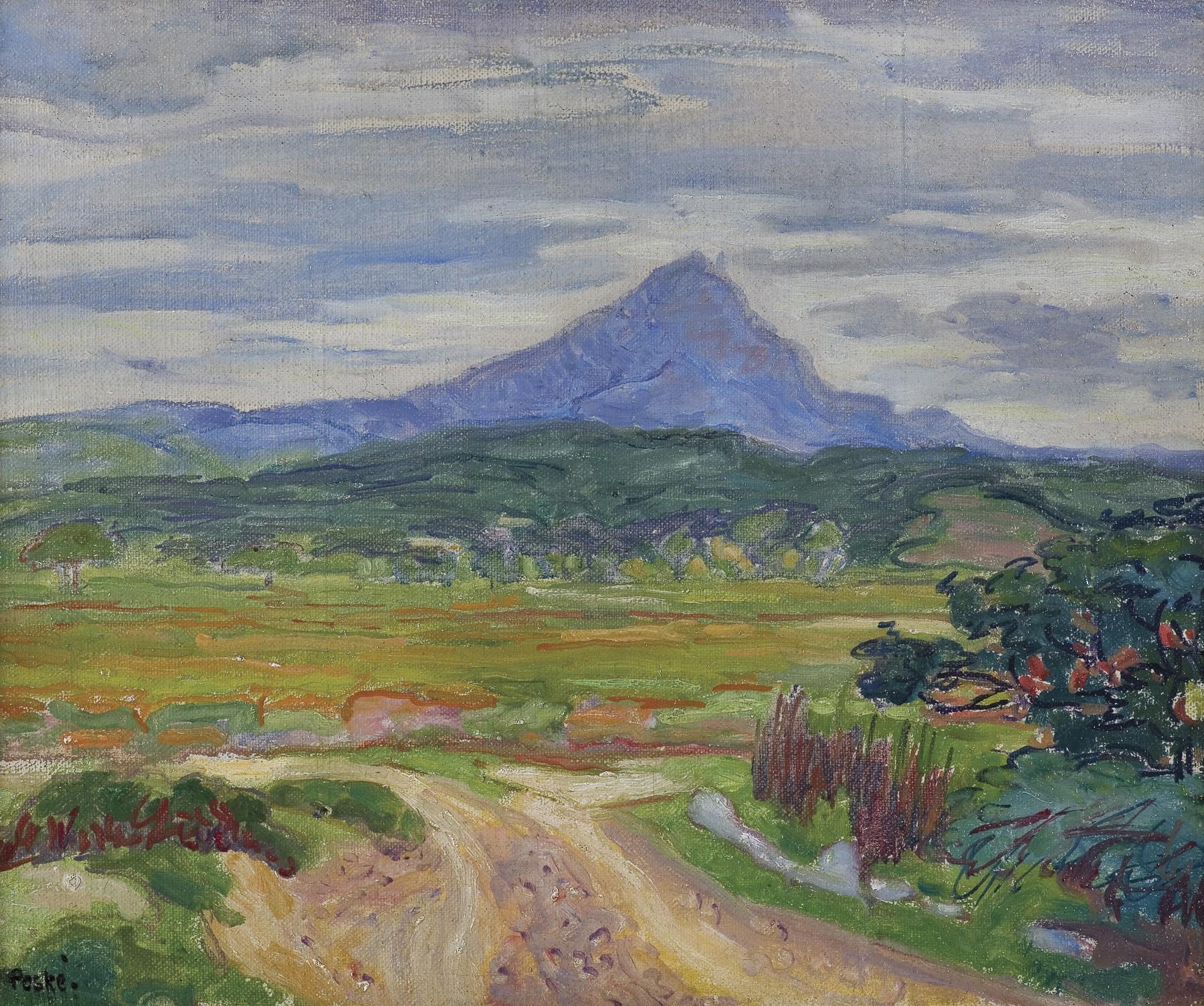 WIDOK NA SZCZYT CANIGOU, 1922
