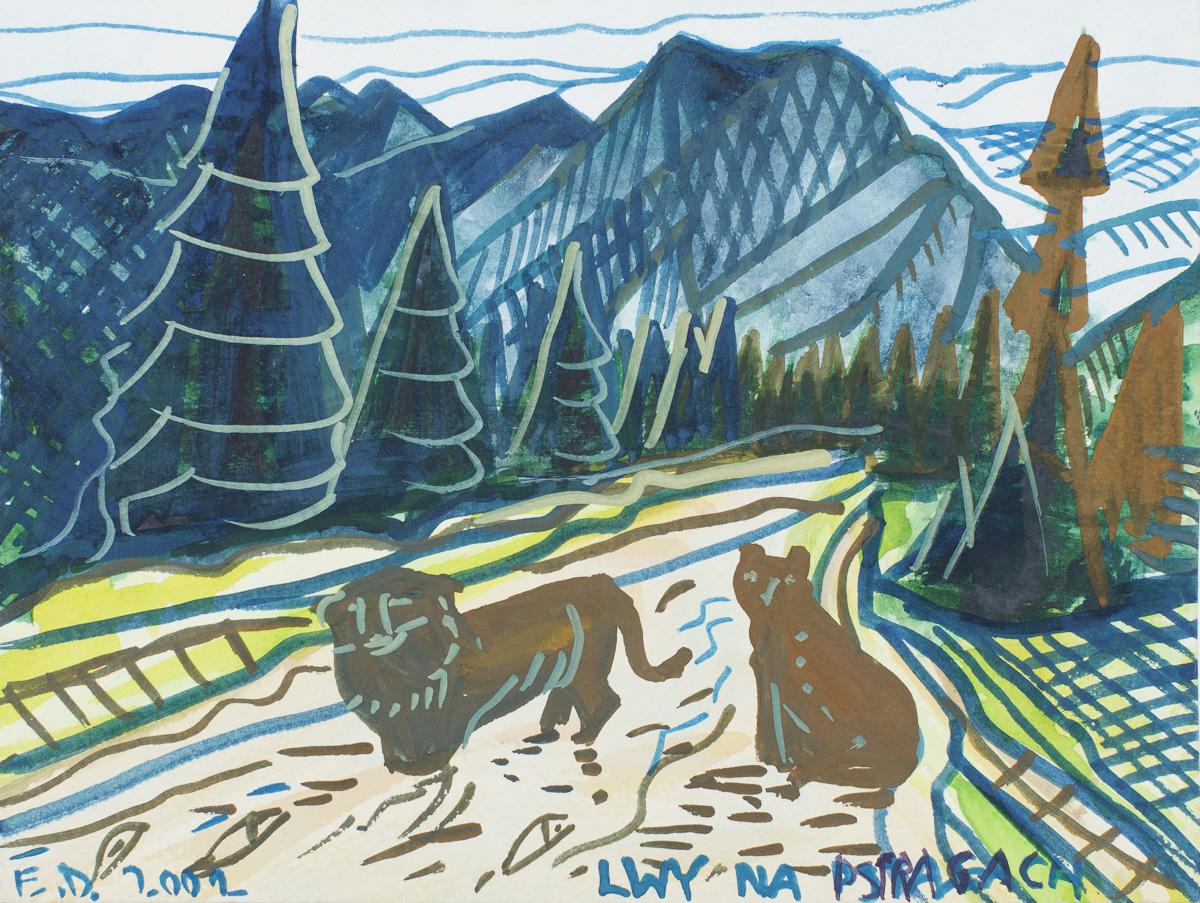 Lwy na pstrągach, 2002