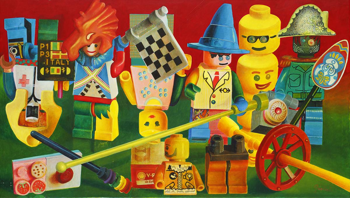 Multi kulti bio army Lego, 2018