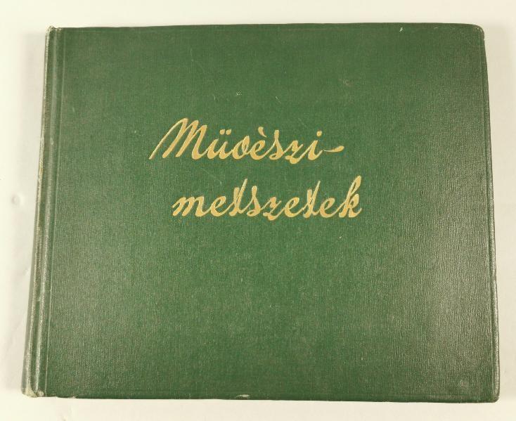 Album z rycinami - 16 plansz
