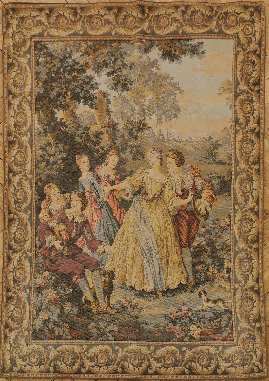 Scena rodzajowa z epoki Ludwika XV
