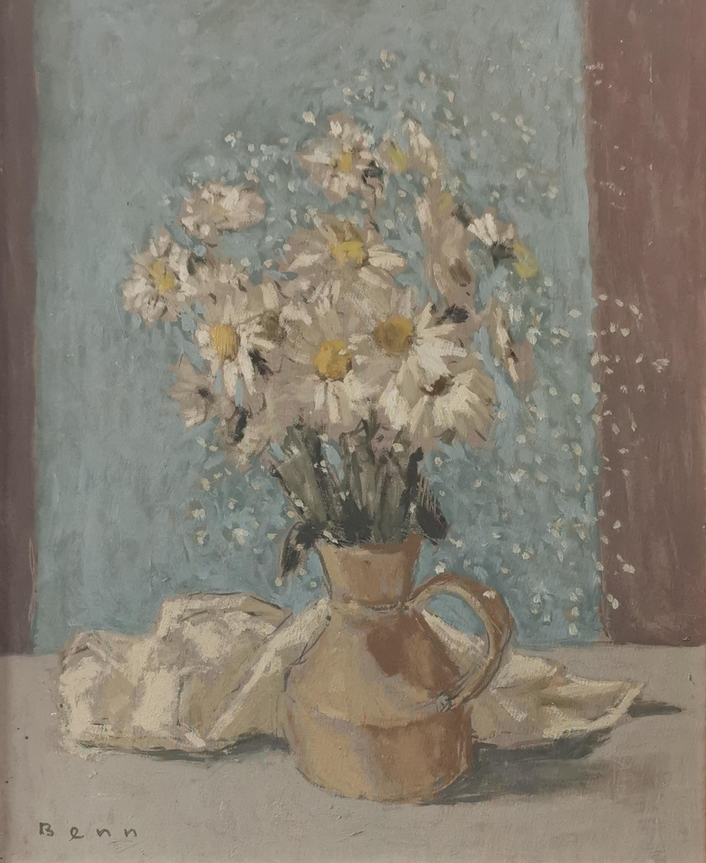 """Białe stokrotki z """"mgiełką kwiatów ala"""""""