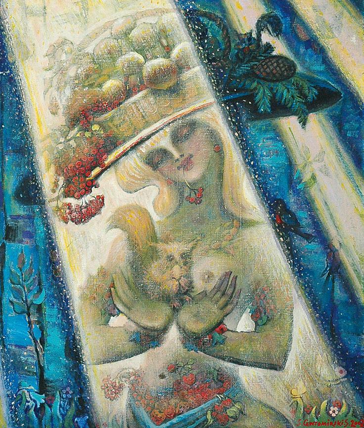 Alegoria ogrodu, 2002