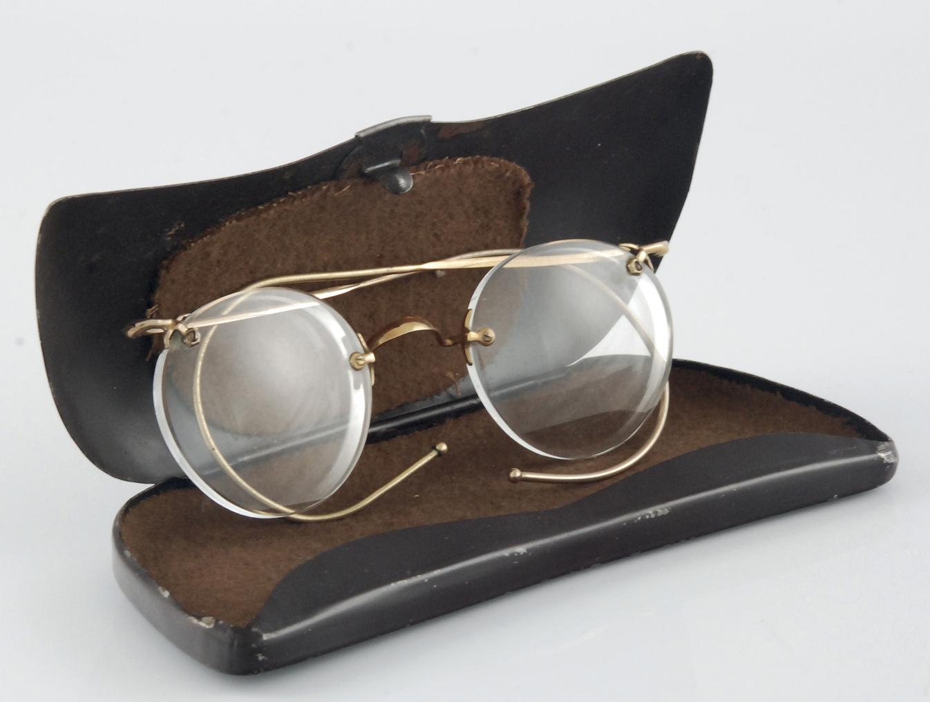 Okulary w etui