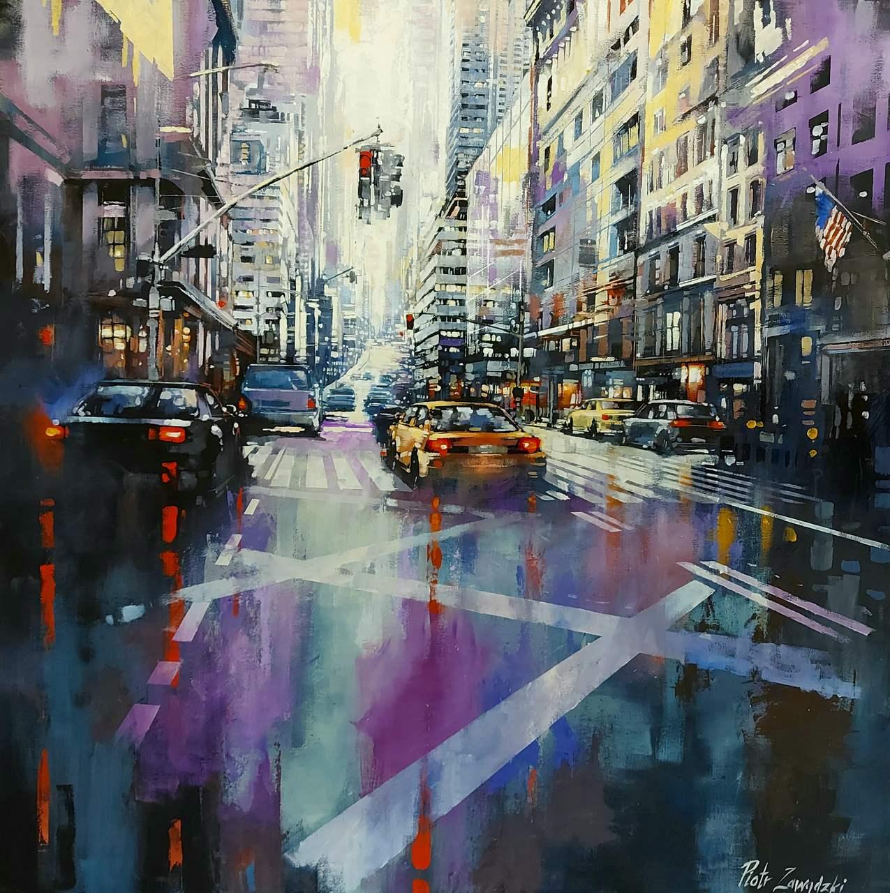 Metropolis. Purple New York, 2020