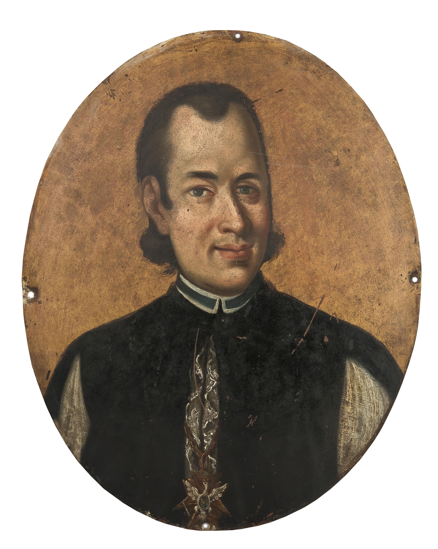 Portret kanonika z orderem Orła Białego- Epitafium