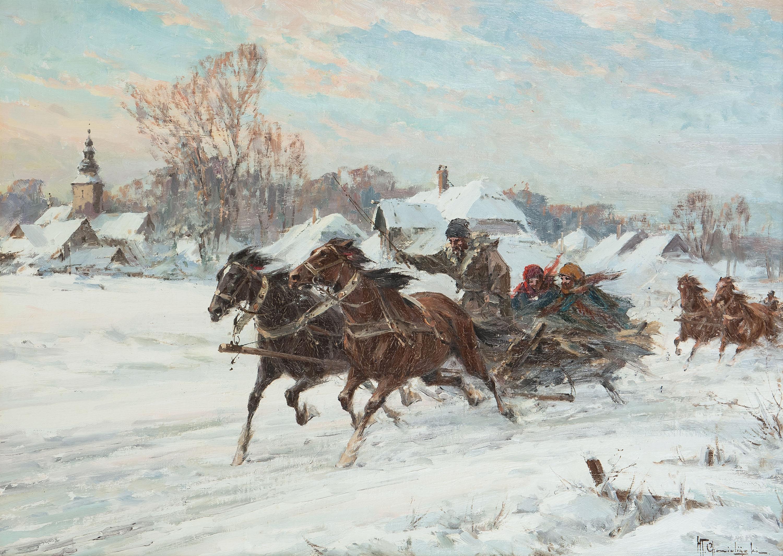 Wyjazd ze wsi