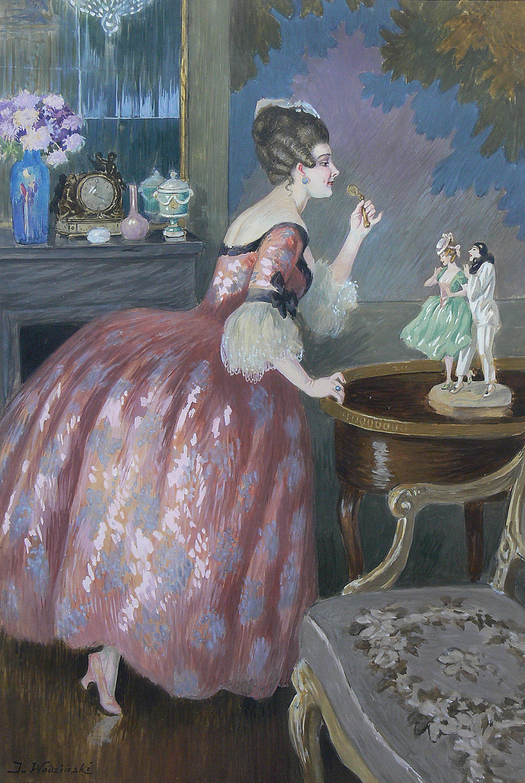Dama w saloniku