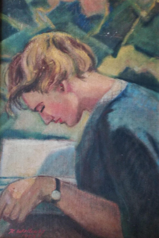 Zaczytana, 1957 r.