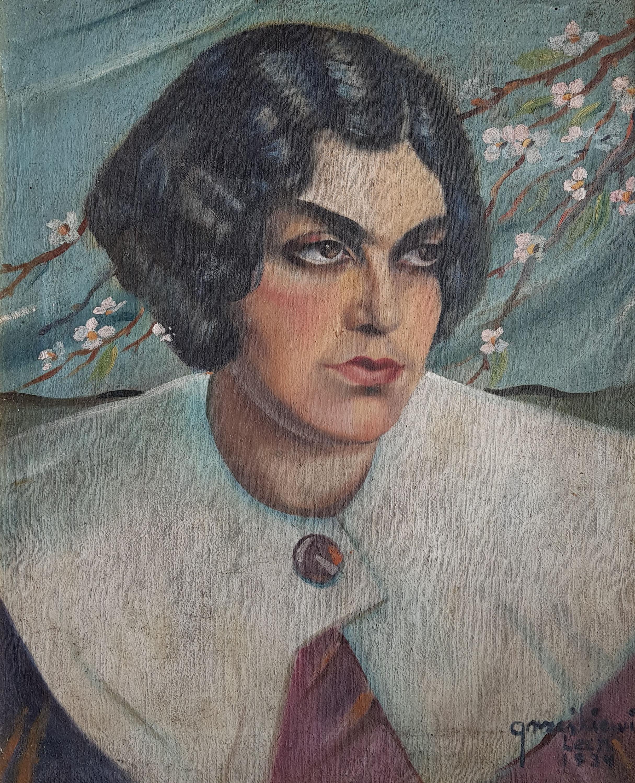 Portret młodej kobiety, 1934 r.