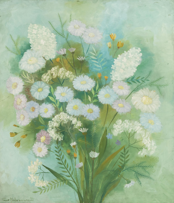 Bukiet kwiatów, 1938 r.