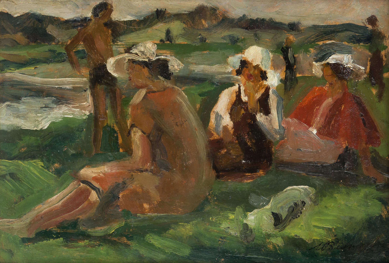 Nad kamienną, 1955 r.