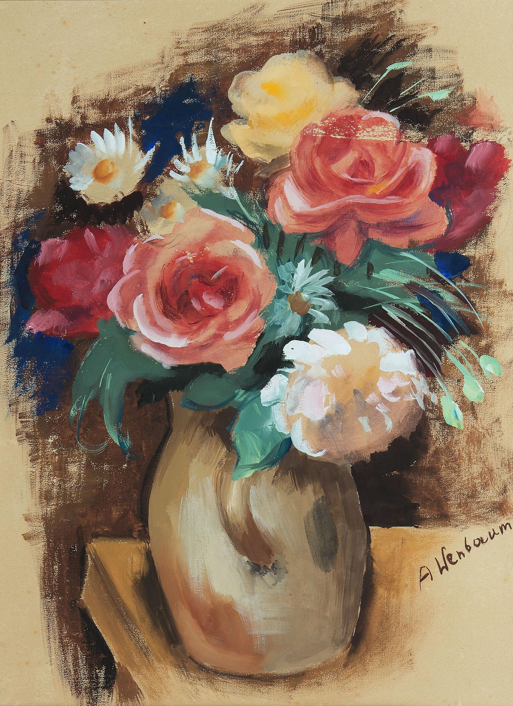 Róże i stokrotki