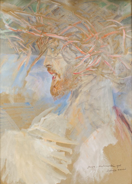 Chrystus w koronie cierniowej, 1925