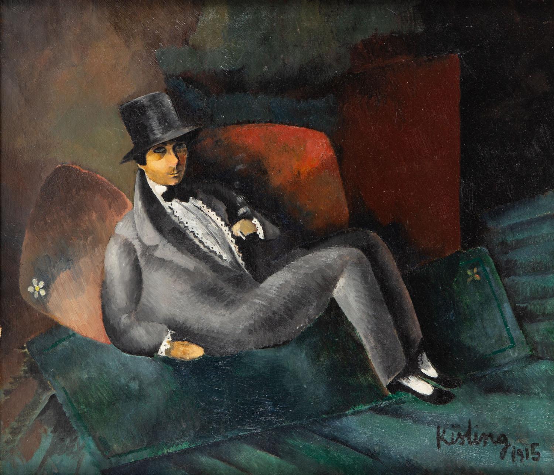 Portret pisarza Francis'a de Miomandre, 1915