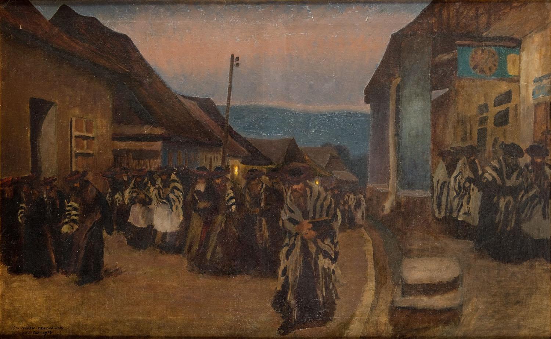 """Sądny Dzień"" (Święto Jom Kipur), 1914"