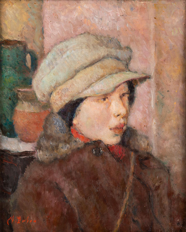 Portret dziewczyny w kaszkiecie