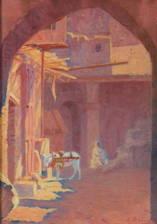 Zaułek w Jerozolimie, 1924