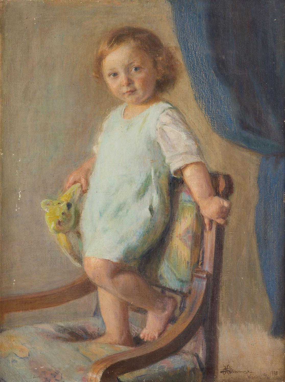 """""""Jaś z niedźwiadkiem"""", 1922"""