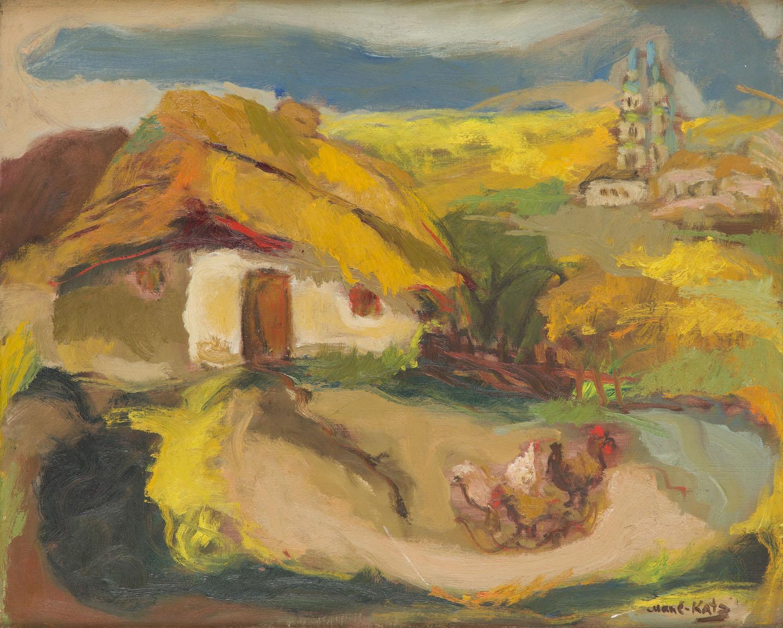 Pejzaż z Karpat, około1930