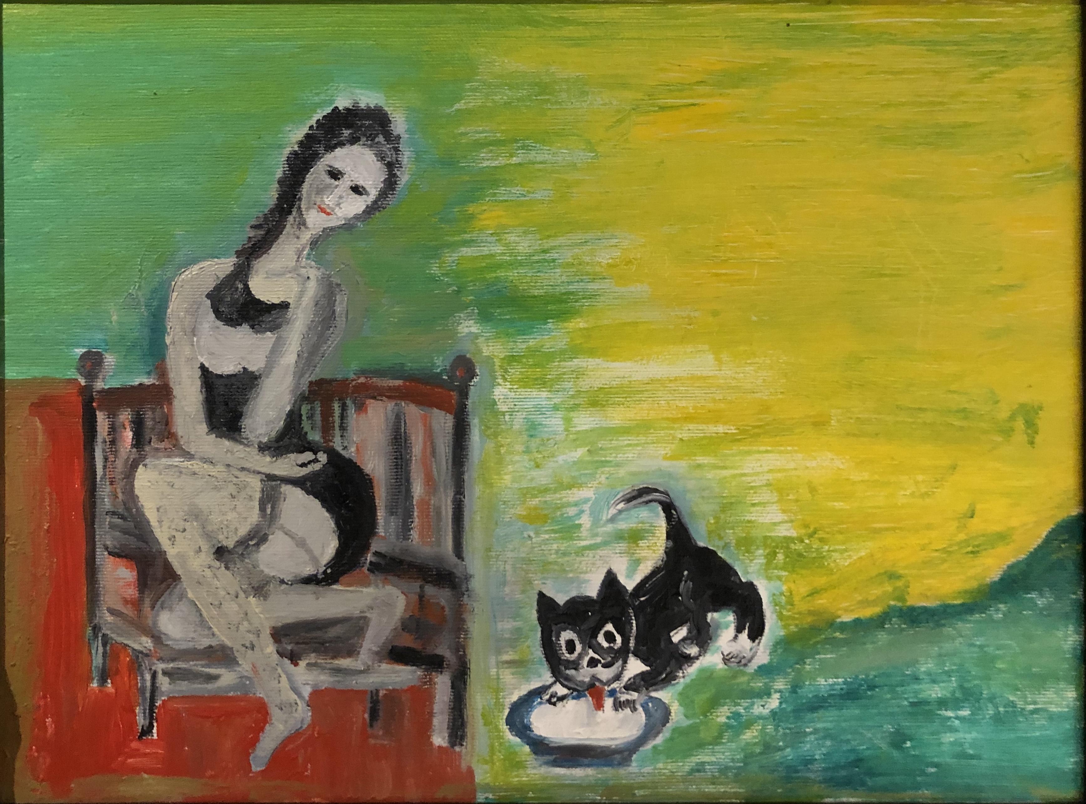 Dama z kotkiem, 2019
