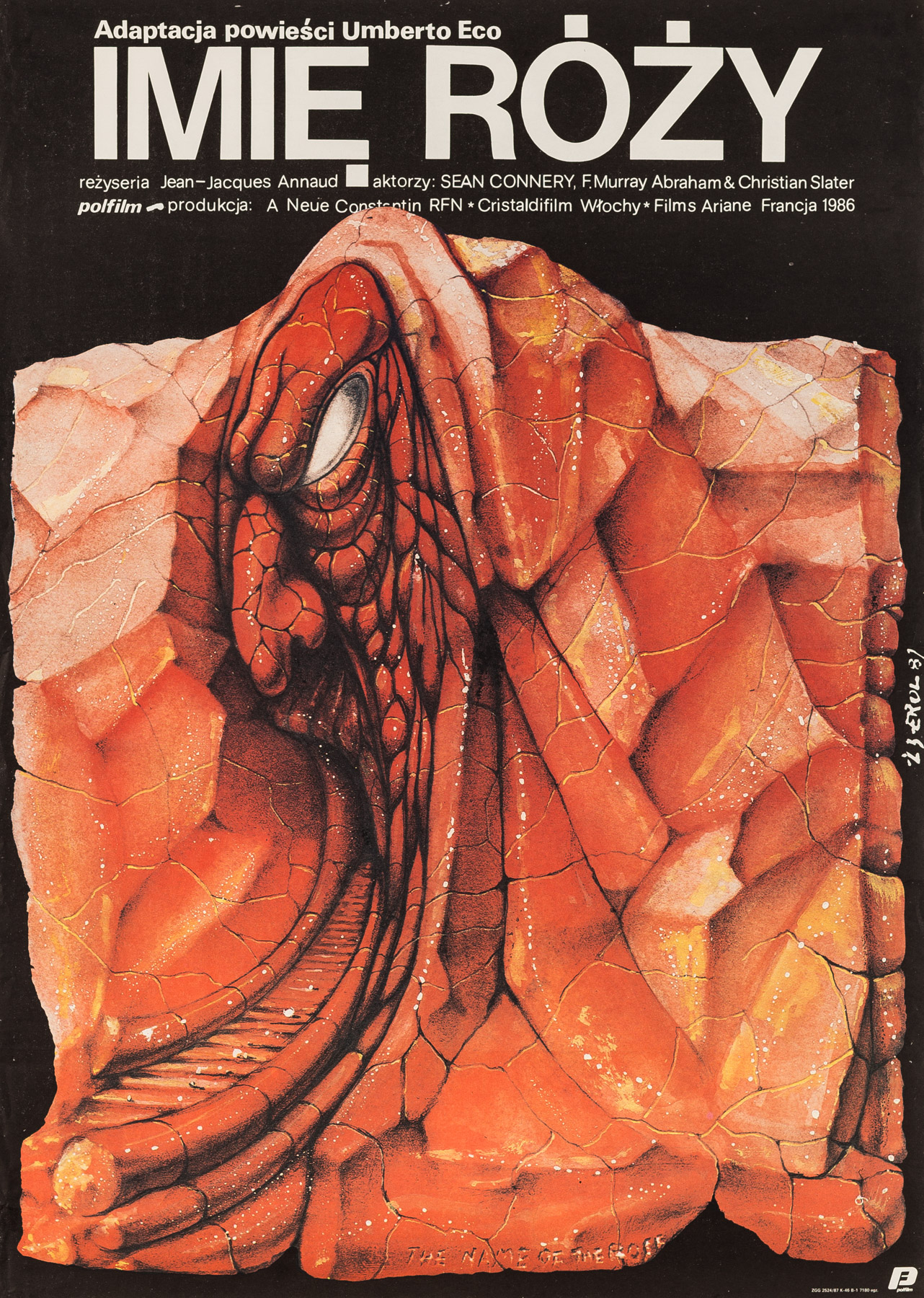 Imię Róży, 1987