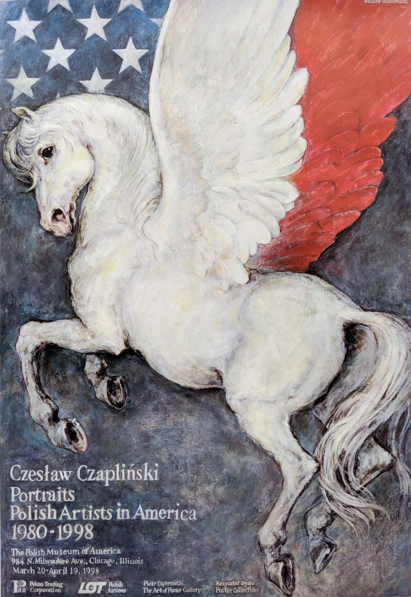 Czesław Czapliński Portraits Polish Artist in America 1980-1998