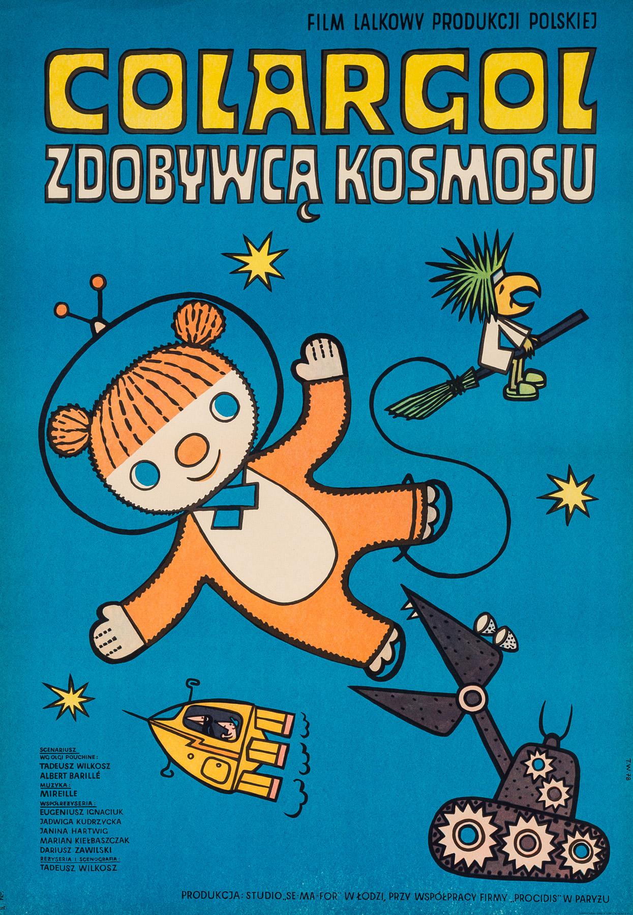 Colargol zdobywcą kosmosu, 1978