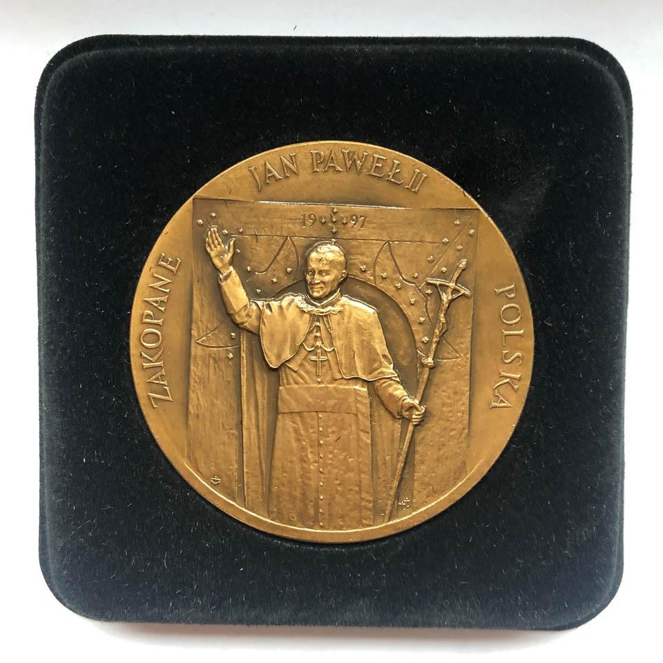 Medal z pielgrzymki Jana Pawła II do Polski, 1997