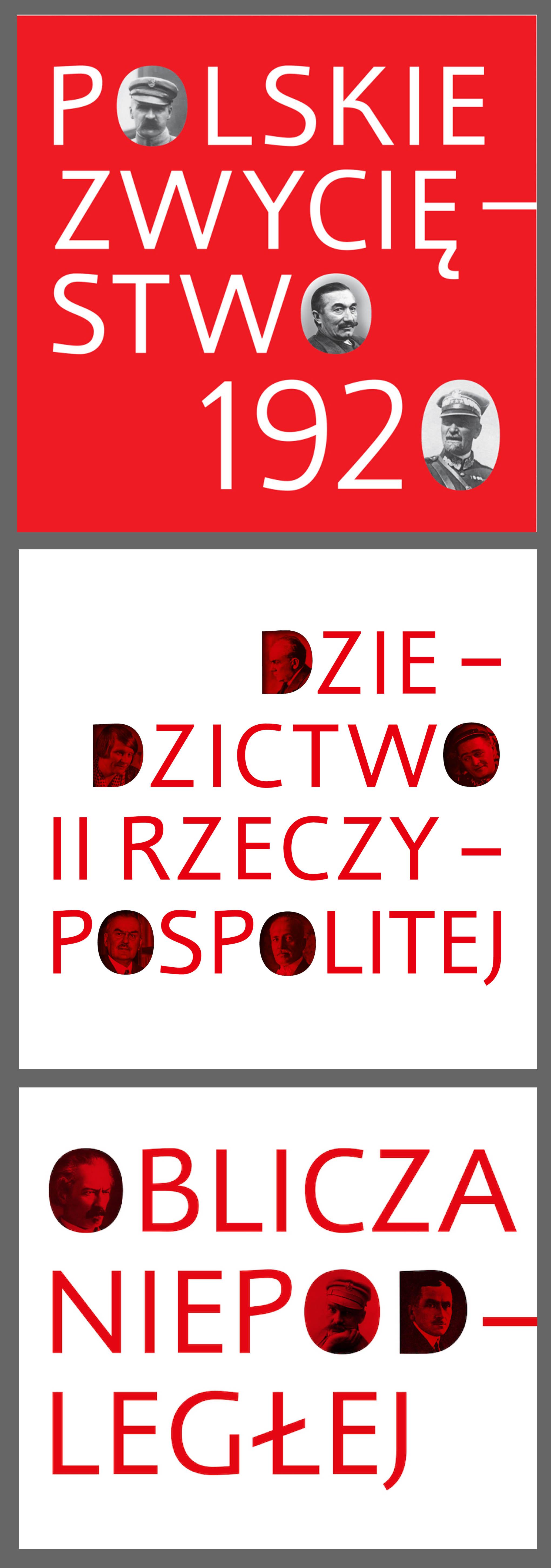 Wokół Niepodległej - zestaw trzech książek Muzeum Historii Polski