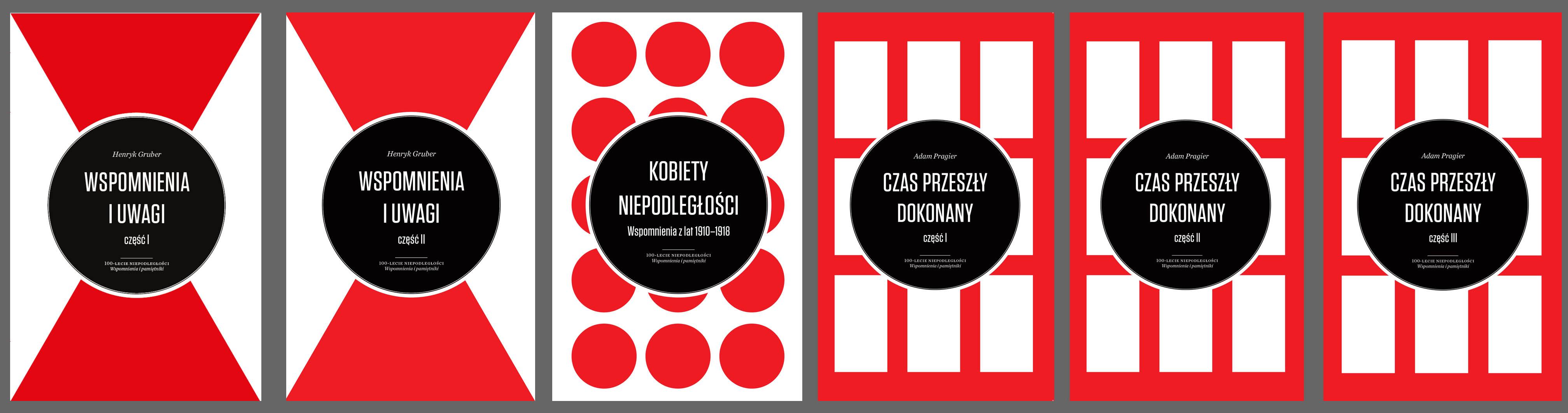 100-lecie Niepodległości. Wspomnienia i pamiętniki - zestaw sześciu książek Muzeum Historii Polski