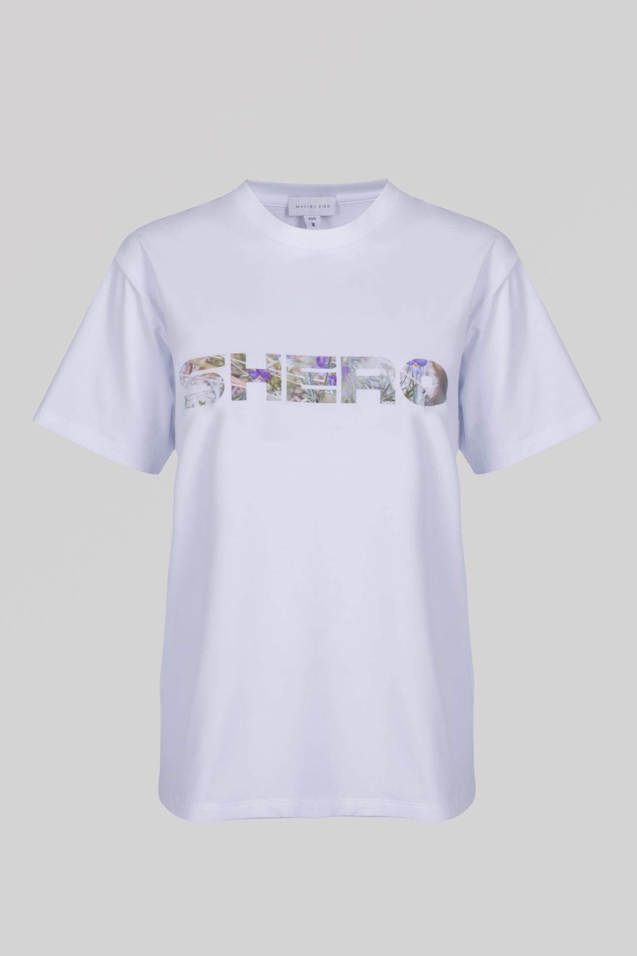 T-shirt SHERO White