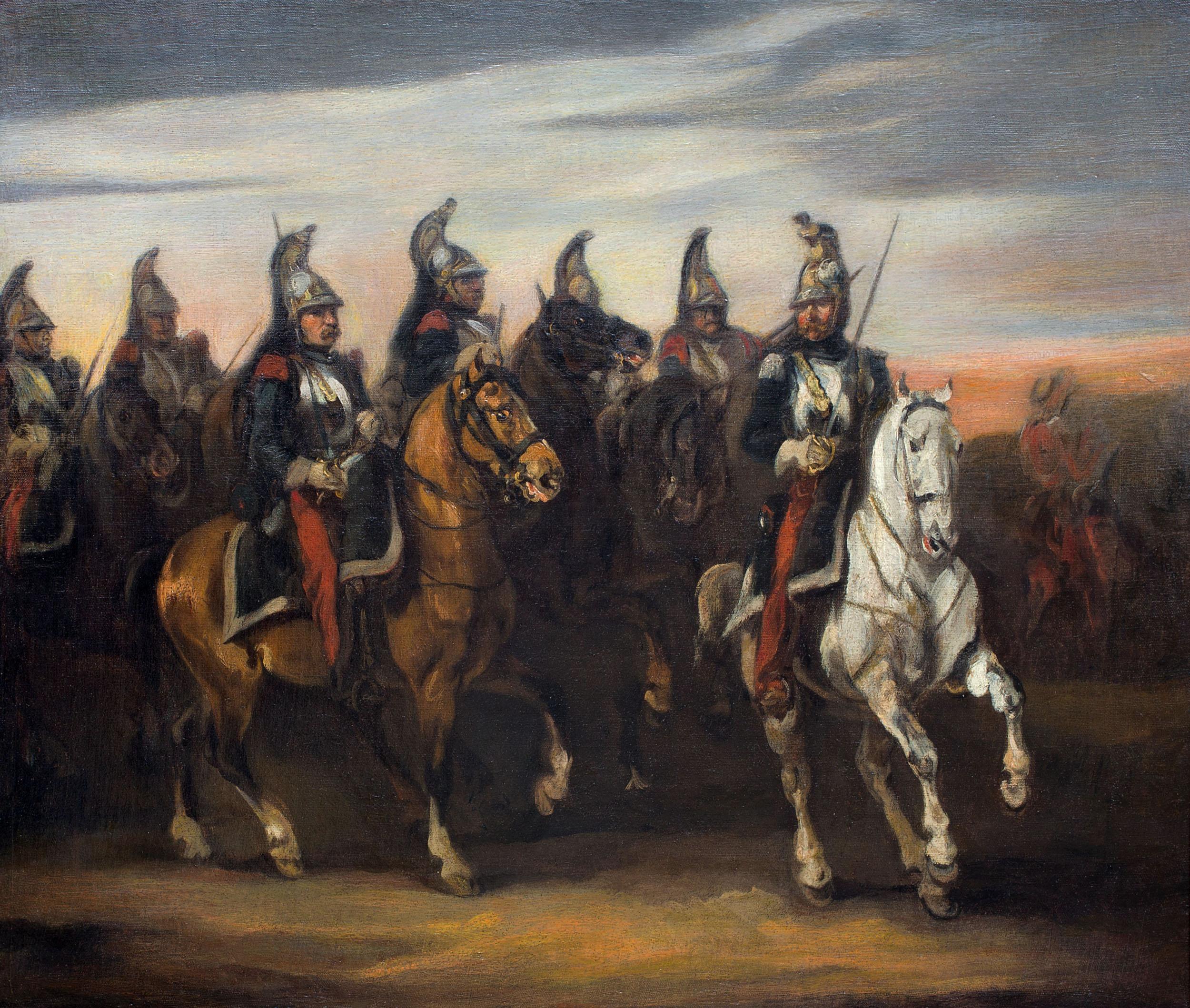 Kirasjerzy, ok. 1835 -1840 r.