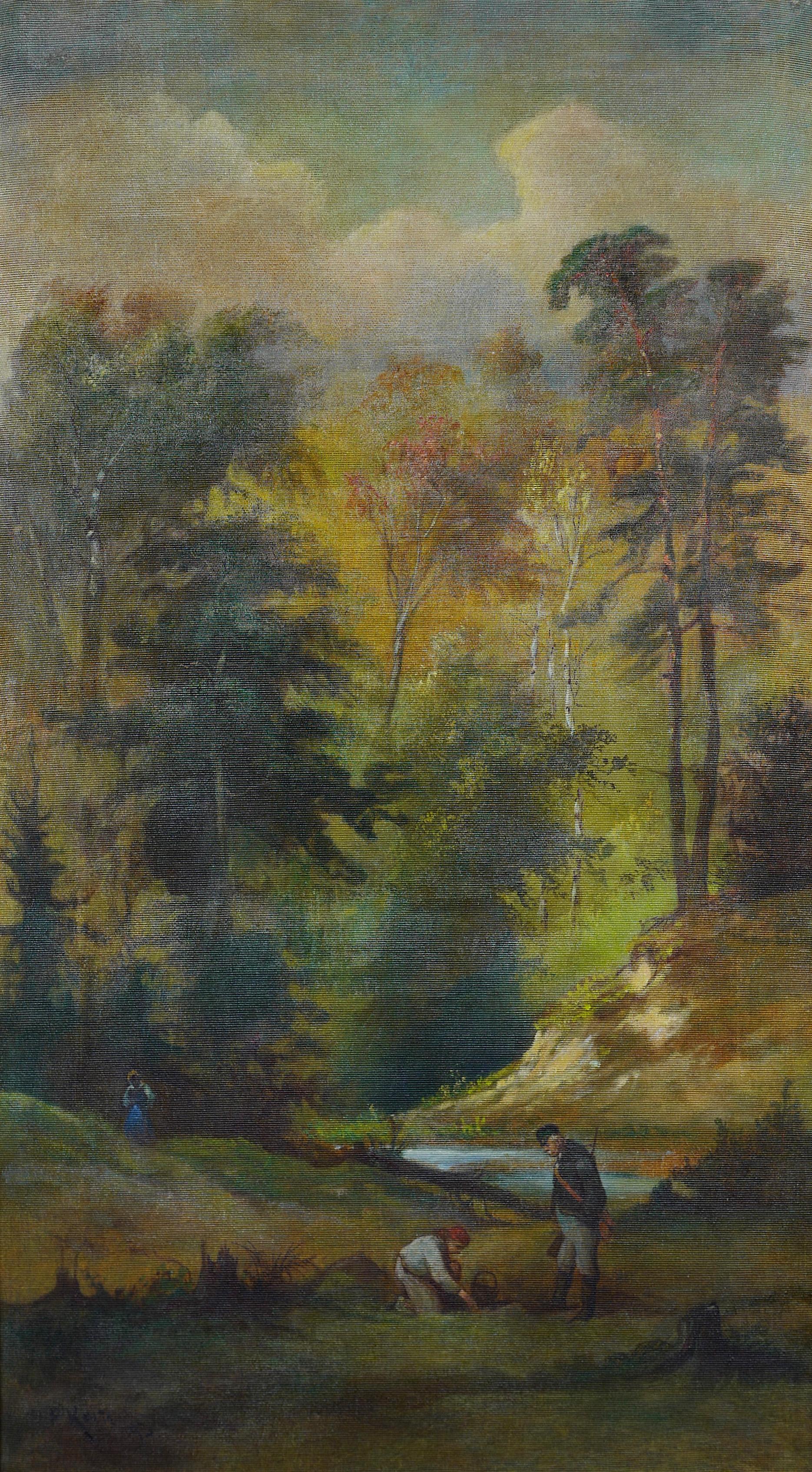 Spotkanie pod lasem, 1893 r.