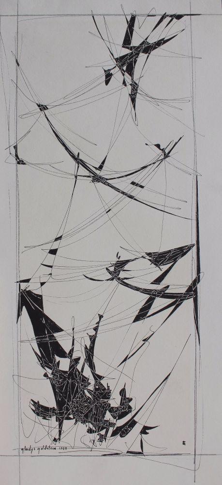 Kompozycja abstrakcyjna (1958)