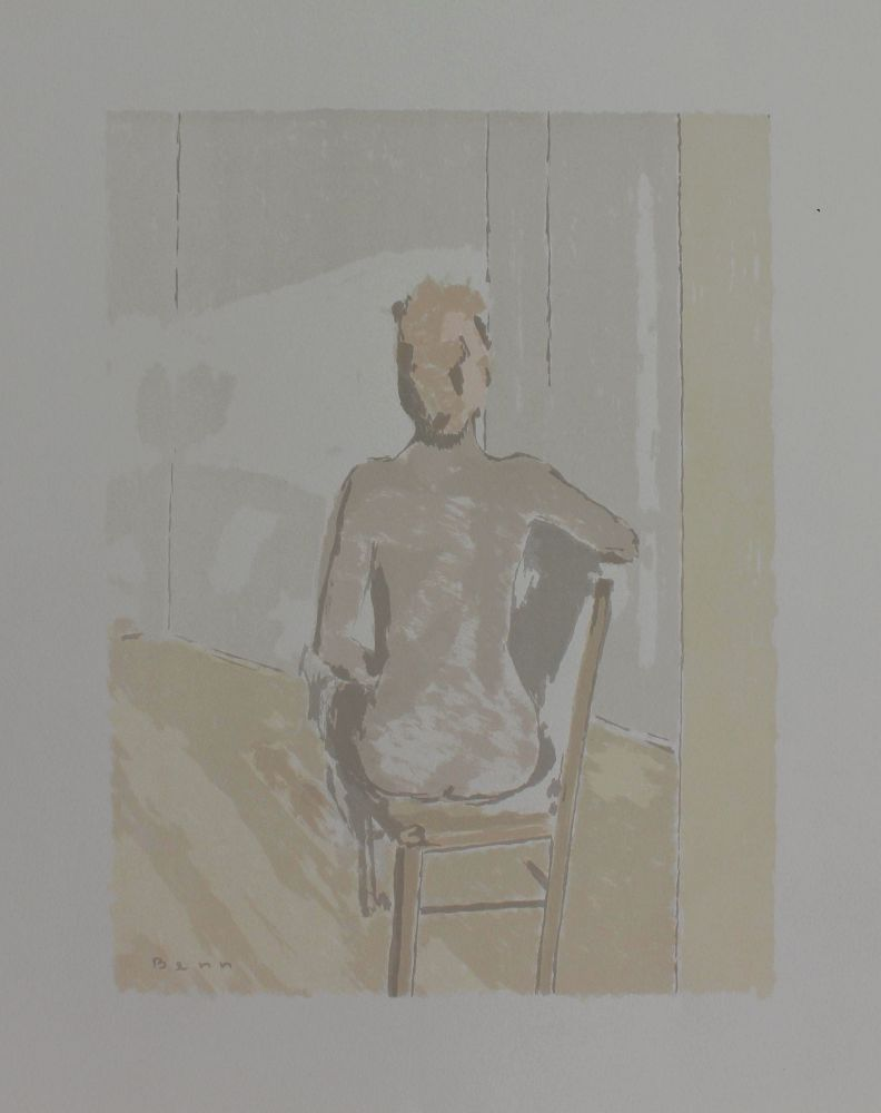 "Akt w słońcu (z teki ""BENN. 14 litographies originales en couleurs"", 1964)"
