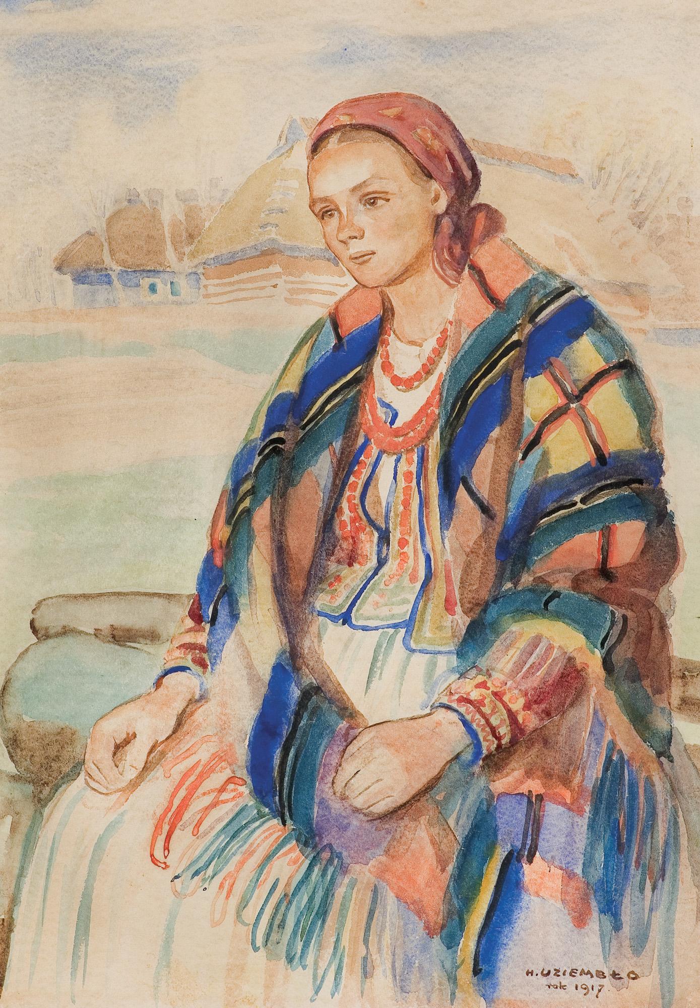 PORTRET GÓRALKI, 1917