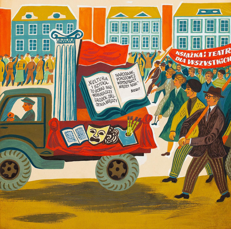 Ilustracja, 1951