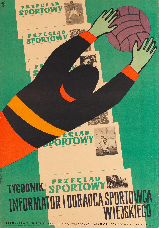 """""""Przegląd sportowy"""", plakat"""