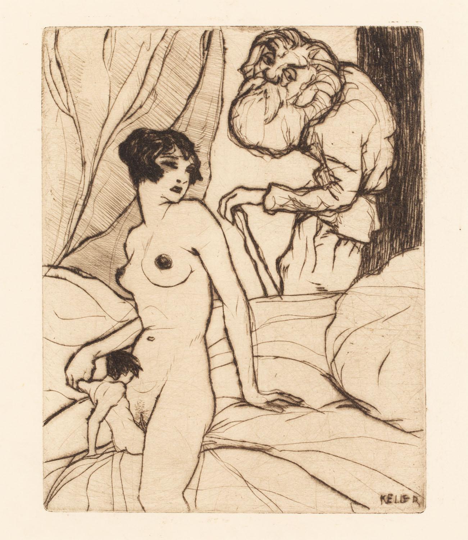 """Liliput z teki """"Erotische Märchen"""""""