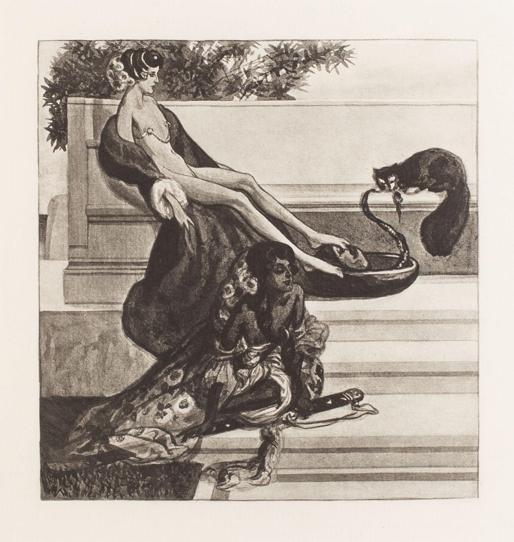 """Plansza VI z teki """"Im Garten der Aphrodite"""""""
