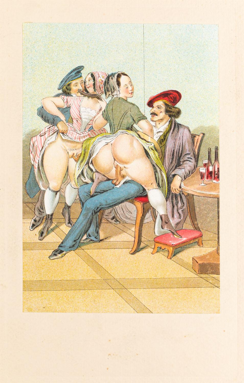"Koncert z wydawnictwa ""Vierzig erotische Aquarelle in Faksimilereproduktion"""