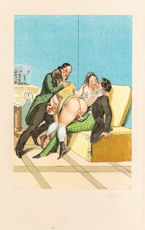 "Spotkanie z wydawnictwa ""Vierzig erotische Aquarelle in Faksimilereproduktion"""