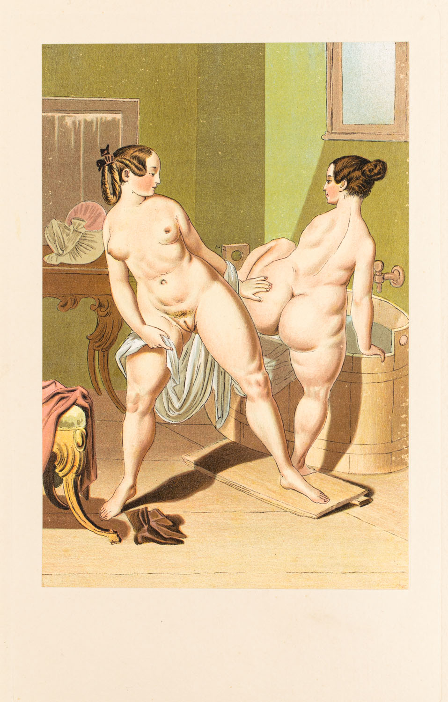 "Balia z wydawnictwa ""Vierzig erotische Aquarelle in Faksimilereproduktion"""