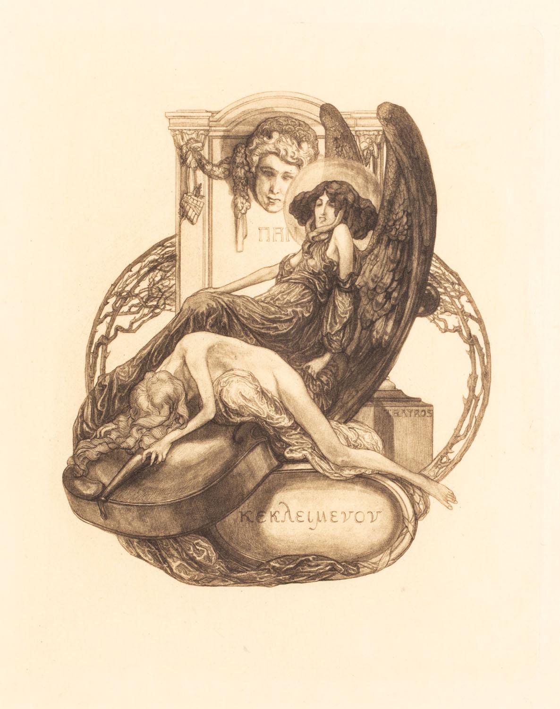 Exlibris erotyczny (Kekleymenon)