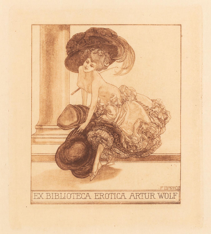 Exlibris erotyczny (Artur Wolf)